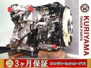 リビルト載せ替え!いすゞ2tエンジン! H28年 TPG-エルフ 4JJ1-TCS/150馬力/実走行13万km ●1129513●