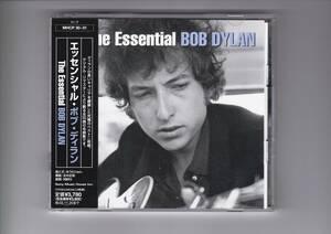 帯付CD 2枚組/ボブ・ディラン エッセンシャル・ボブ・ディラン デジタル・リマスター 全30曲収録 MHCP30~31