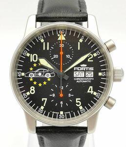 FORTIS フォルティス パイロットクロノグラフ・プロフェッショナル ポルシェ 100本 限定 自動巻き 時計