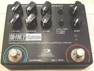 [即決あり] Ovaltone OD-FIVE 2 eXplosion [1円スタート] OD-100系アンプライクディストーション