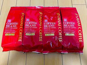コーヒー豆(中挽き) 500g×4袋 澤井珈琲 ※あっさり味