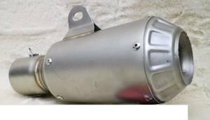 コニカル GPサイレンサー 異形 60.5π ステン ショート / 汎用 スリップオン マフラー GSXR1100 GSX750S CBR900RR ZRX1200 ZRX1200R