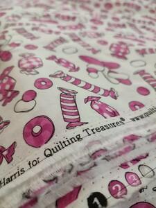 ロラライハリス Tasties キャンディ ピンク レア 廃盤 USAコットン