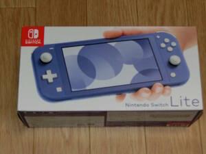 新品未使用品 ニンテンドー スイッチ ライト Nintendo Switch Lite ブルー本体