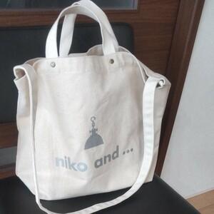 ニコアンド 2wayトートバッグ niko and...