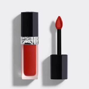 Dior ルージュ ディオール フォーエヴァー リキッド 741 リップ 口紅 オレンジ レッド