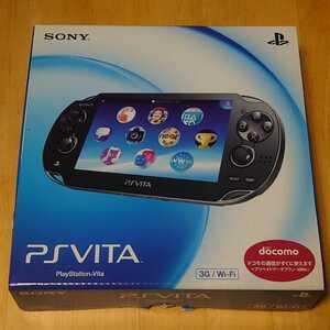 訳あり ほぼ未使用 PSVita PCH-1100 クリスタル ブラック PlayStation Vita 本体 1000 美品