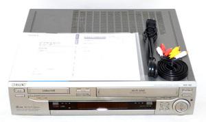 【整備済☆動作極美品】SONY ソニー WV-BW3 RMT-811 Hi8 ビデオ デッキ VHS Wデッキ 8mm 8ミリ Video Cassette WV-BW2 WV-BW1 兄弟機