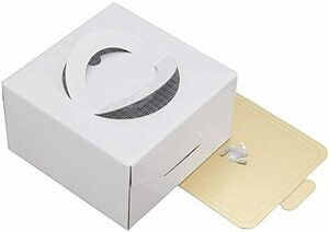 ホワイト 貝印 KAI ケーキ ボックス Kai House Select 15㎝ ホワイト 日本製 DL6341
