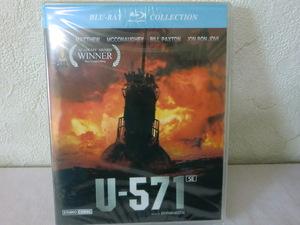 未開封品【同封有】送料160円 Blu-ray 輸入盤 u-571 ブルーレイ CLBD-065 日本語字幕入/HDリマスタリング 117分