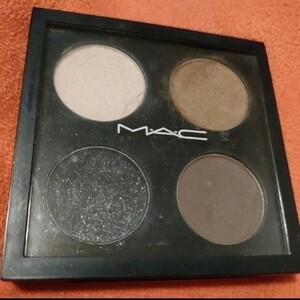 M・A・C アイシャドウ パレット マック 4色 アイカラー MAC ブラウン スモールアイシャドウ ラメ ブラック 黒 茶