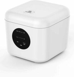 【炊飯器】MOOSOO(モーソー)ME10 多機能炊飯器 4合 8種類の調理メニュー タッチセンサー式スイッチ 一人暮らし