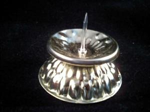 キャンドル ブリキ菊ダルマローソク立て 日本製 キャンプ アウトドア 蝋燭 ポイント消化