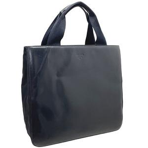 プラダ トートバッグ レザー 革 ナイロン ブラック 黒 PRADA ハンドバッグ 手提げ バッグ バック カバン 鞄 NERO (9587)