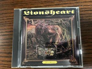 送料込 !LIONSHEART ライオンズハート 獅子の咆哮 国内盤 帯付き 歌詞カード付き!