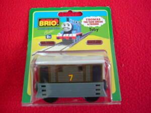 ヤフネコ送料無料!ブリオ BRIO ◆木製レール 機関車トーマス トビー/未使用/王室御用達・本物 32307