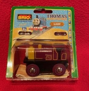 ヤフネコ無料!ブリオ BRIO ◆木製レール 機関車トーマス レディー/未使用/王室御用達・本物 32330