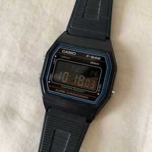 CASIO カシオ 腕時計 デジタル反転文字盤