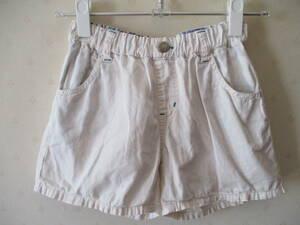 JYNK SPORT ショート パンツ 半ズボン 白 130