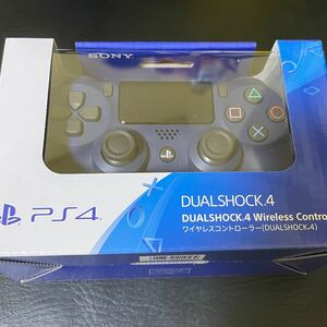 PS4 ワイヤレスコントローラー DUALSHOCK4 ミッドナイトブルー 未開封
