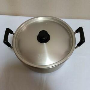 アルミ大鍋両手鍋 26 CM アルミ鍋 両手鍋