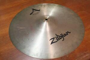 """シンバル Zildjian ジルジャン ROCK CRASH ロッククラッシュ 18"""" 1.5cmほどの割れあり 現状渡し"""
