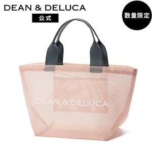 DEAN&DELUCA ディーンアンドデルーカメッシュトートバッグ ピンク