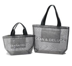DEAN&DELUCA ディーンアンドデルーカメッシュトートバッグ 二点セット