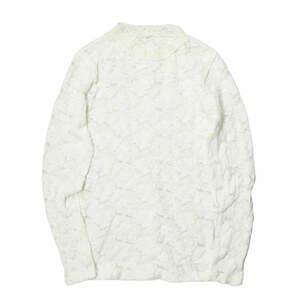 Ray BEAMS レイビームス ストレッチレースハイネック 63-14-0053-933 フリー ホワイト 長袖 Tシャツ カットソー トップス ☆☆lc29400