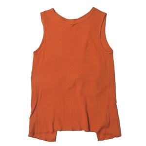 Ray BEAMS レイビームス 19SS 日本製 バックツイストノースリーブTシャツ 63-04-0283-166 フリー TERRACOTTA カットソー ☆☆lc29996