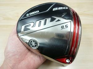 【中古】 ヤマハ RMX リミックス 220 9.5° ドライバー ヘッドのみ 日本仕様