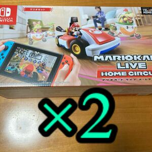 マリオカート ライブ ホームサーキット マリオ ニンテンドースイッチ 2台