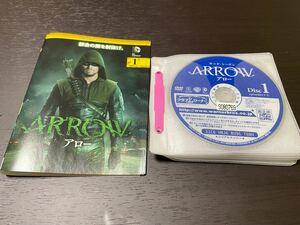 ARROW アロー サード シーズン3 全12枚 第1話〜第23話 最終 全巻セット DVD レンタル落ち