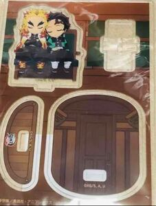 鬼滅の刃 劇場版 無限列車編 煉獄杏寿郎&竈門炭治郎 1個 ufotable限定ゆらゆらアクリルマスコット  アクリルスタンド
