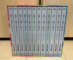 ■送料無料■ Blu-ray 物語シリーズ セカンドシーズン 完全生産限定版 全12巻セット (全巻収納BOX付き) 化物語
