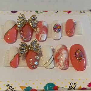 ネイルチップ 蝶々