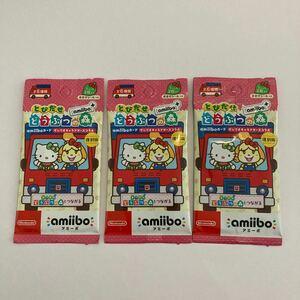 とびだせどうぶつの森amiibo+ amiiboカード サンリオキャラクターズ コラボ