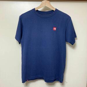 【大人気】THE NORTH FACE ザノースフェイス Tシャツ 半袖 ワンポイント ネイビー★Sサイズ メンズ NT31848