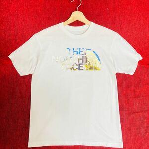 【大人気】THE NORTH FACE ザノースフェイス Tシャツ 半袖 ビッグロゴ★Mサイズ メンズ NT31801X