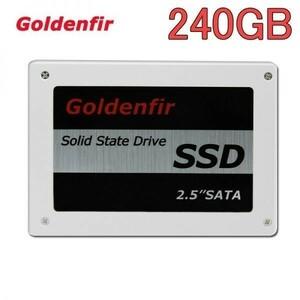 SSD Goldenfir 240GB SATA3 / 6.0Gbps 新品 2.5インチ 高速 NAND TLC 内蔵 デスクトップPC ノートパソコン