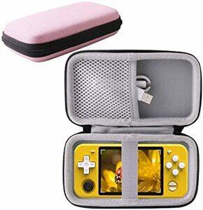 用の RGB10 /RK3326/RK2020 ポータブルゲーム機 専用保護収納ケース -WERJIA JP(ピンク