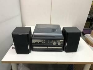 【中古】大阪引取限定 (株)とうしょう プレーヤー TCDR-186WC ターンテーブル ラジオ CD カセット レコード 音楽【STIM102】