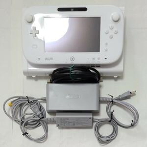 Nintendo WiiU シロ 8G 本体 ゲームパッド ケーブル+ ソフト3本