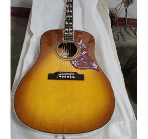 ビンテージ ギター タバコバースト ハミングバードタイプ