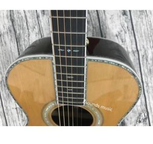 エボニーoooアコースティックギター ソリッドレッドシダーウッドアコースティックギター