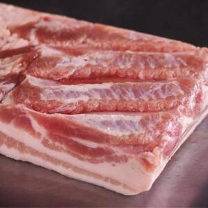 国産!!信州ブランド豚!!業務用 豚バラ 1枚 焼肉 バーベキュー 約5~6kg ブロック 角煮 カレー 豚串 やきとり10kg迄送料同額にて同梱可