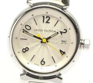 箱付き ☆良品【LOUIS VUITTON】ルイ・ヴィトン タンブール Q121K クォーツ レディース