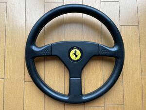 フェラーリ 348 純正ステアリング F刻印入り 送料込み