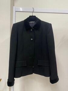 ジバンシー ジャケット ウールスーツ ビジネススーツ テーラードジャケット ブラックフォーマル size