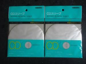 【新品】CDスリーブ ナガオカTS-561 (20枚入り)×2個セット ナガオカ 送料込み